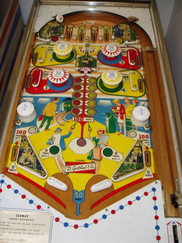 Subway playfield